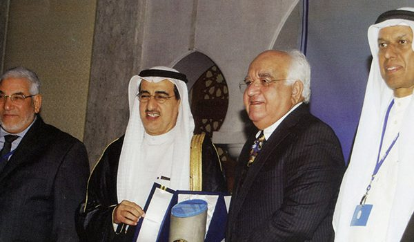 Mr. Ubed Arain Receives Award of Achievement from ACI Kuwait Chapter