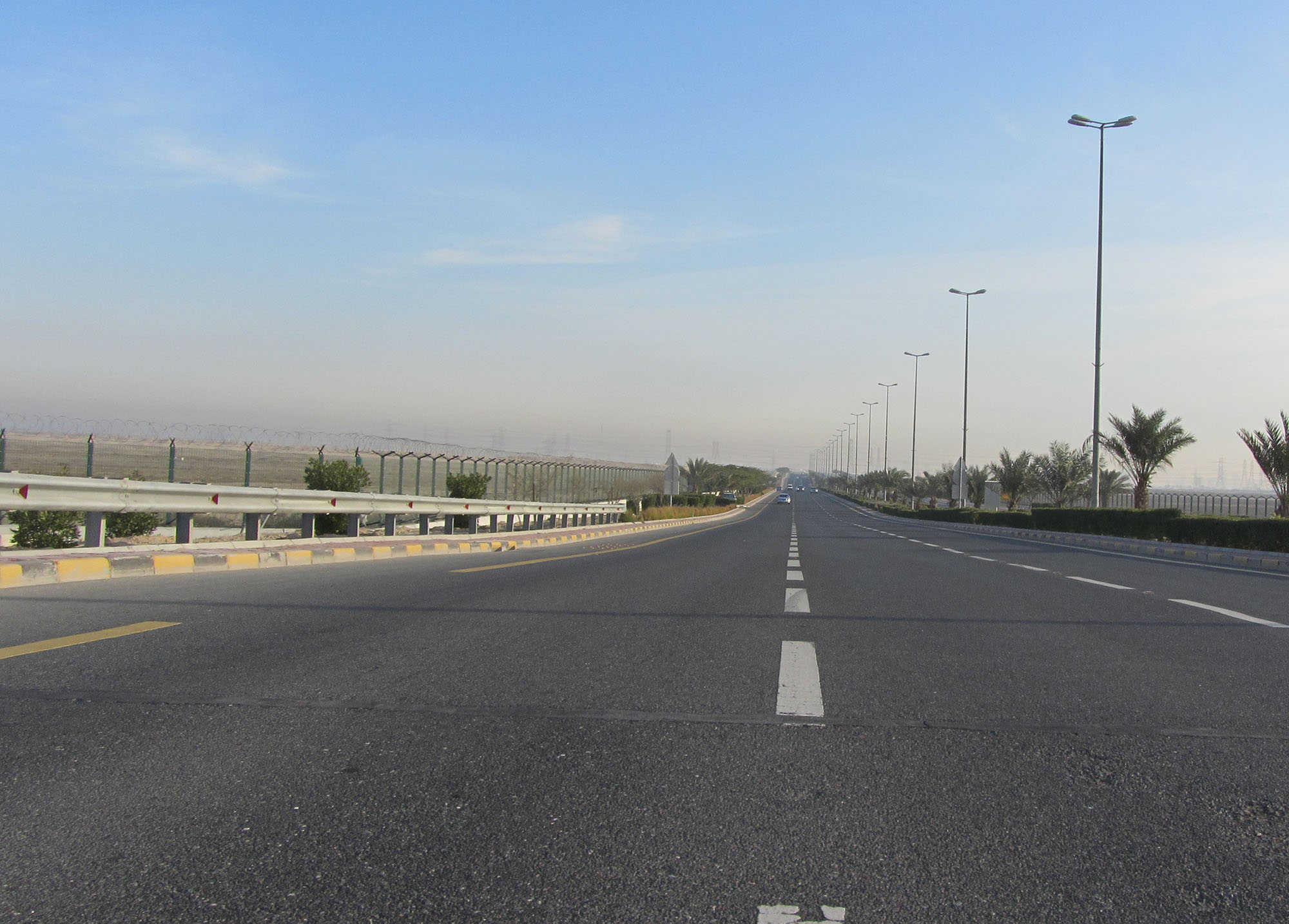New Ahmadi Dual Link Road and New South Ahmadi Bypass Road