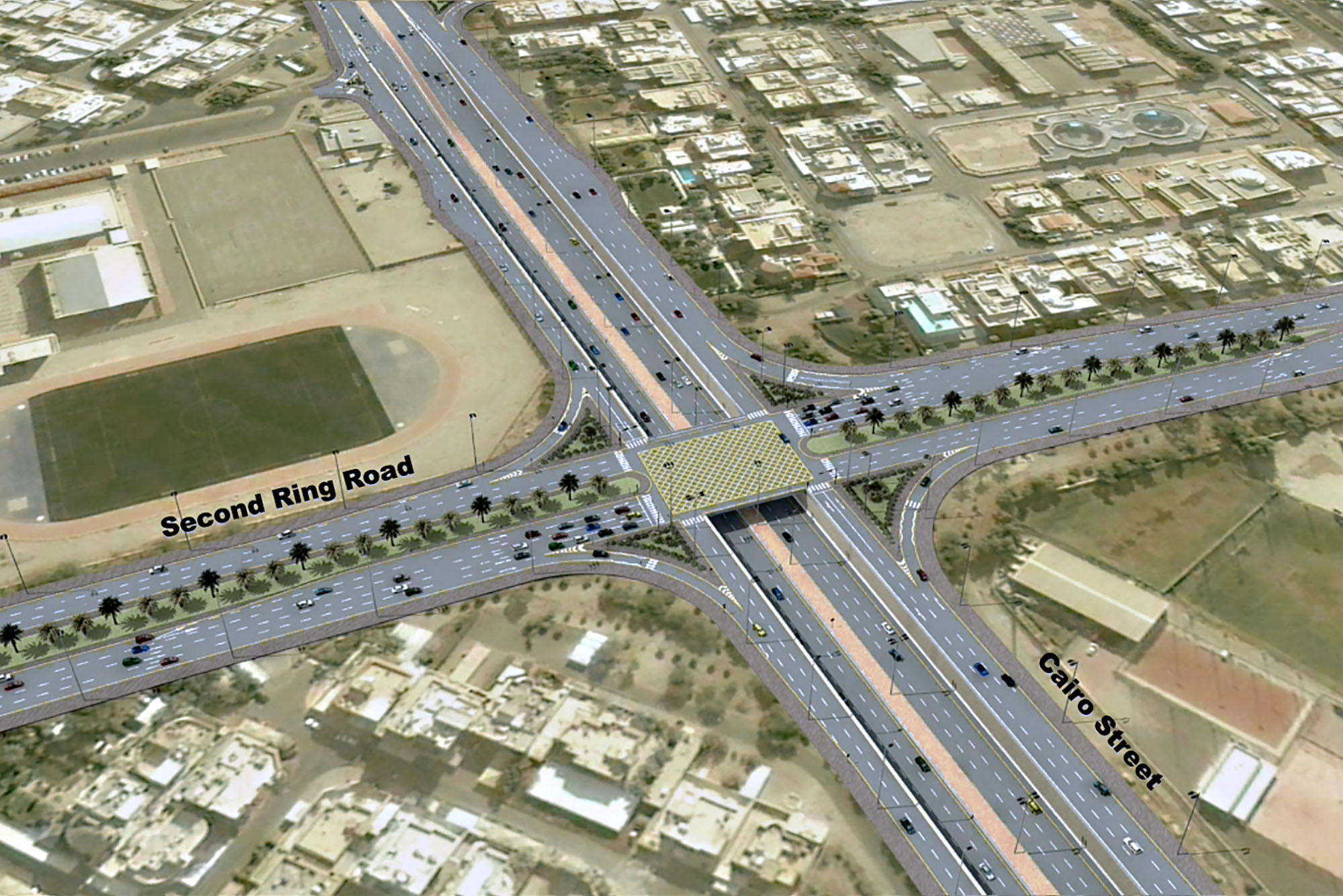 Upgrading of 2nd and 3rd ring road