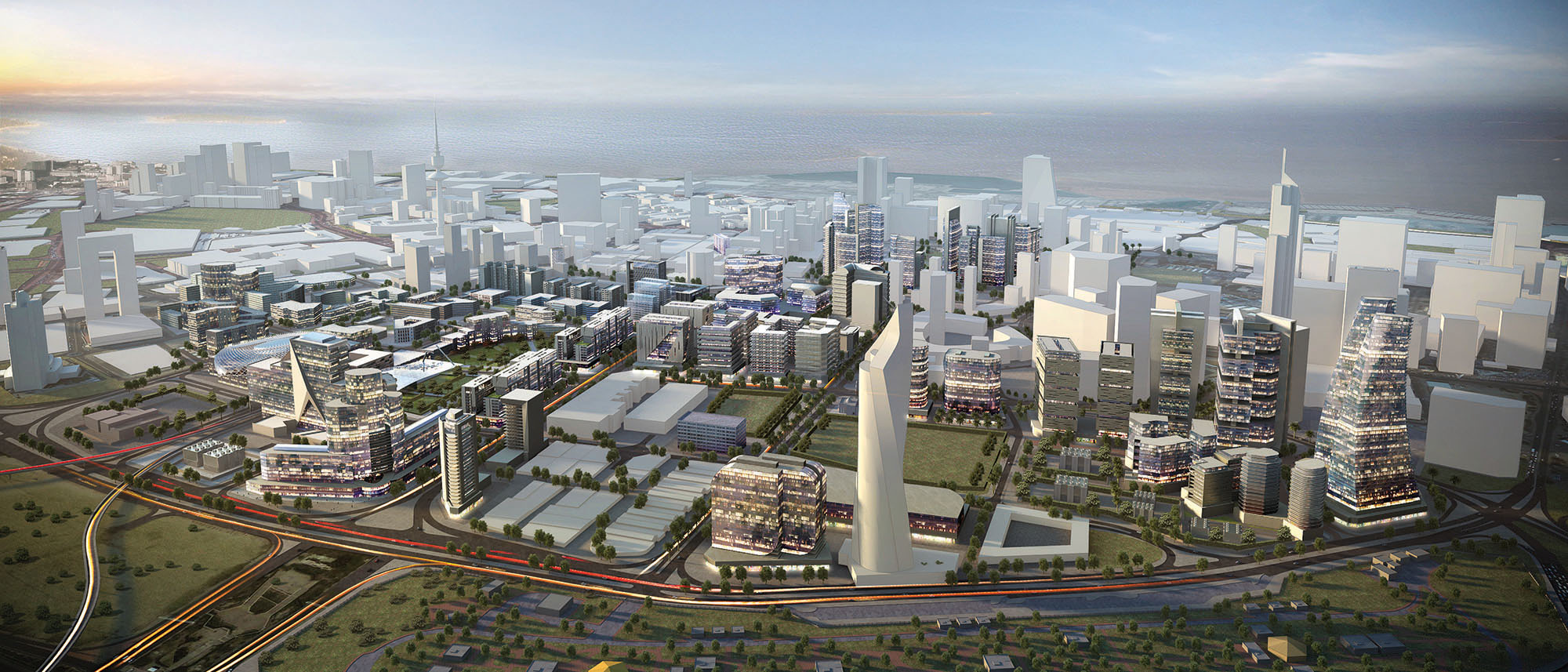 Kuwait City Urban Development 2030