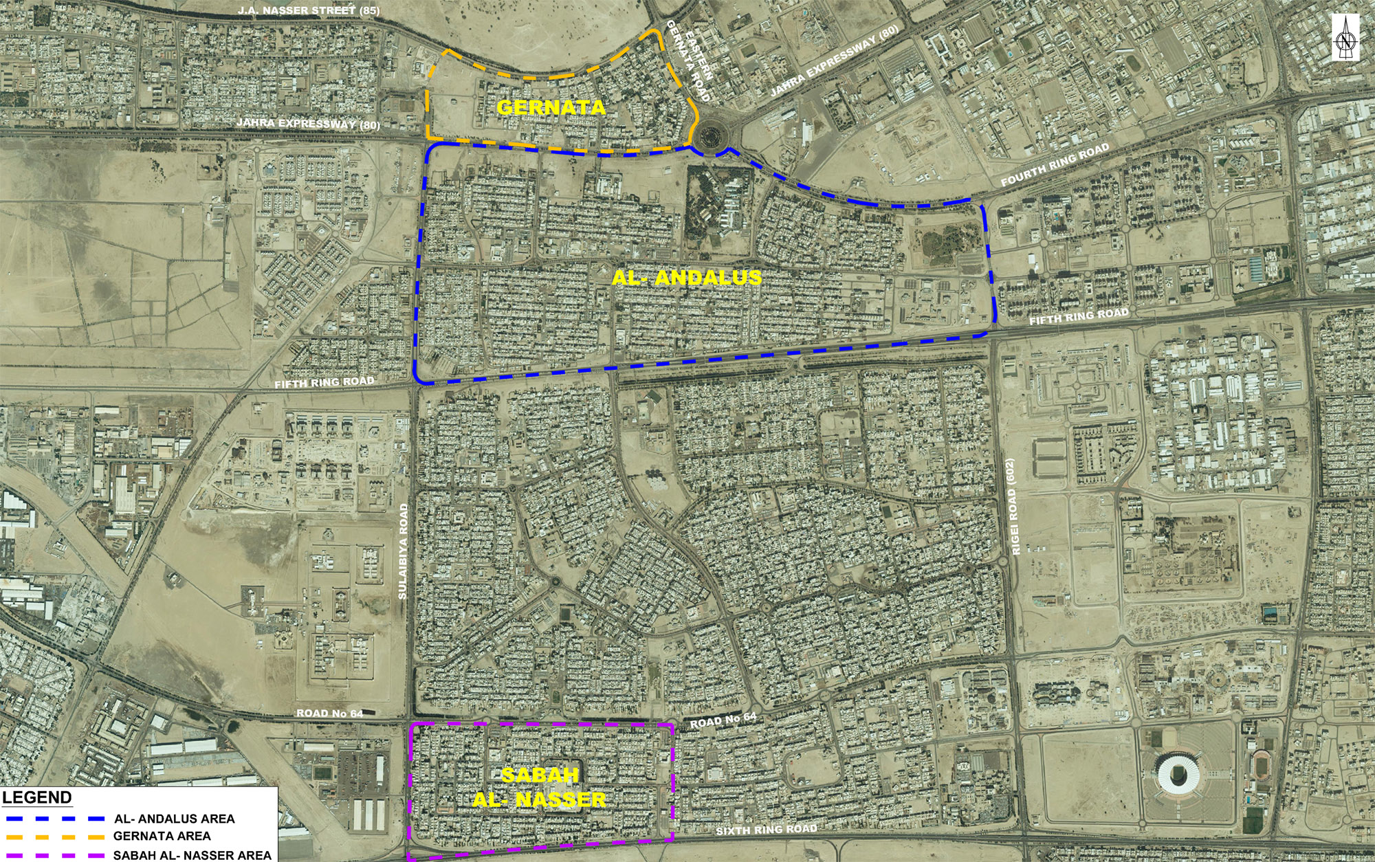 Infrastructure Upgrades due for Gharnata, Andalus, and Sabah Al Naser Areas