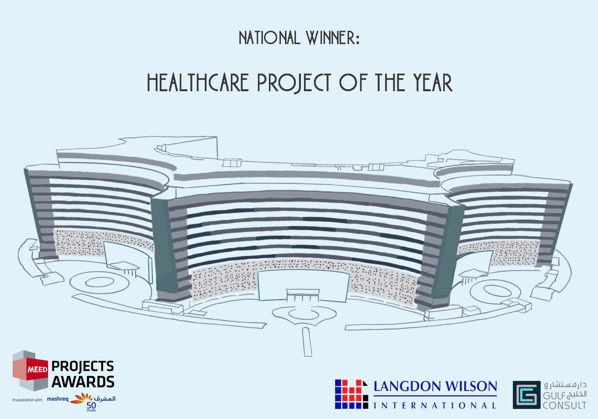 Gulf Consult and Langdon Wilson, has been named the National Winner at the 2020 MEED Projects Awards